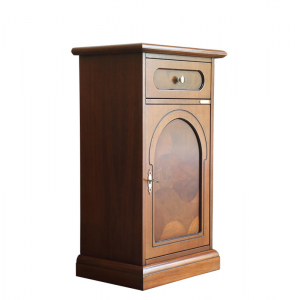 Briar root side cabinet
