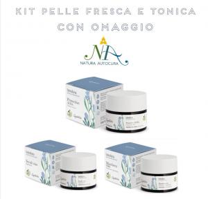 Kit Pelle Fresca e Tonica OMAGGIO inserisci il CODICE: KITNATURAUTOCURA IN OMAGGIO il Tonico e il Latte detergente Flowers and Fruits