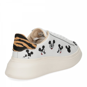 Moa Master of Arts MD477 Disney double gallery white Mickey all over-5