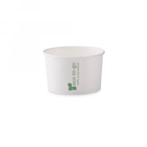 Coppette gelato Eco to go biodegradabili - 90cc