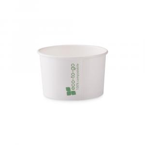 Coppette gelato Eco to go biodegradabili - 120cc