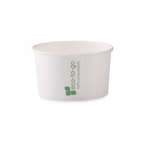 Coppette gelato Eco to go biodegradabili - 170cc