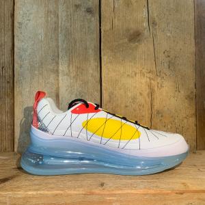 Scarpa Nike MAX-720-818 Bianca Rossa e Gialla