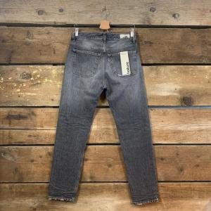 Jeans Uomo Haikure Tokyo Nero Slavato (Slim Crop)