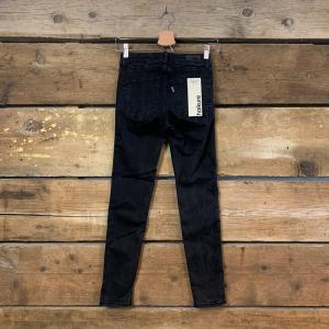 Jeans Donna Haikure Victoria Nero (Skinny Crop)