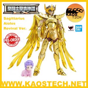 *PREORDER* Saint Seiya Myth Cloth EX: Sagittarius Aiolos Revival Ver. by Bandai Tamashii