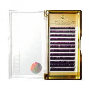 Extensiones de Pestañas OMBRE (dos tonos) CC0,10mm