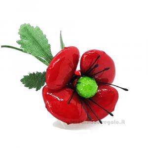 Papavero grande Fiore di Confetti William Di Carlo Sulmona - Italy