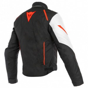 Giacca Dainese Laguna Seca 3 D-Dry White/Fluo-Red/Black