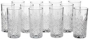 Set 12 pezzi bicchieri in vetro long drink Timeless cl 45 cm.16,1h diam.7,75