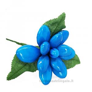 Dalia azzurra Fiore di Confetti William Di Carlo Sulmona - Italy