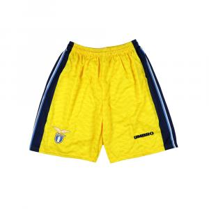 1996-98 Lazio Pantaloncini Away Shorts *Nuovi