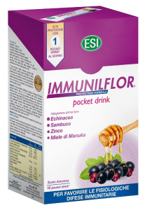 ESI IMMUNILFLOR PROTECTION FORMULA POCKET DRINK PER FAVORIRE LE FISIOLOGICHE DIFESE IMMUNITARIE