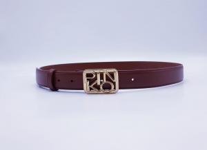 Cintura bassa fibbia logo Pinko