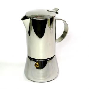 Caffettiera in acciaio Cilio 4 tazze