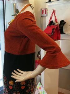 Abito invernale moda etnica   Collezione donna autunno inverno