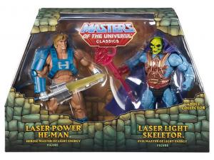 Masters of the Universe Classics: LASER POWER HE-MAN & LASER LIGHT SKELETOR