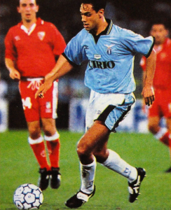 1995-97 Lazio Pantaloncini Home Shorts *Nuovi