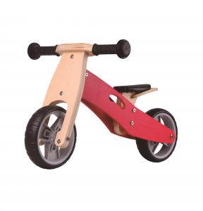 Udeas Bici senza pedali cavalcabile 2 in 1 Varoom Minibike Rosso