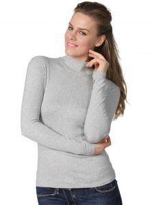 Lupetto donna manica lunga cotone elasticizzato BASIC COTTON