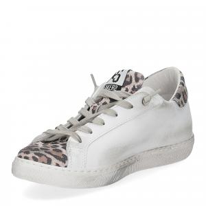 2Star 2807 sneaker bianco maculato-4