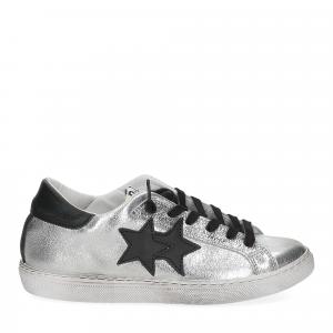2Star 2818 sneaker argento nero-2