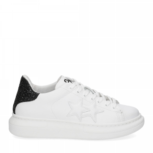 2Star 2885 sneaker bianco nero-2