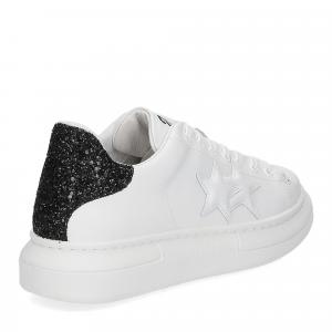 2Star 2885 sneaker bianco nero-5
