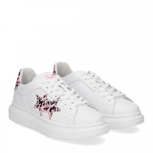 2Star Elettra 013 sneaker bianco maculato rosa-1