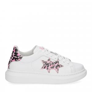 2Star Elettra 013 sneaker bianco maculato rosa-2