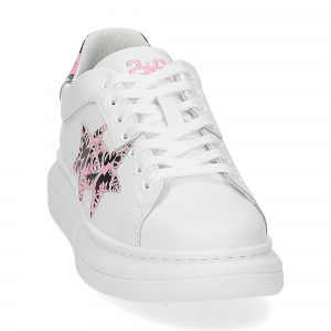 2Star Elettra 013 sneaker bianco maculato rosa-3