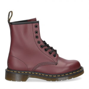Dr. Martens Anfibio Donna 1460 cherry red smooth-2