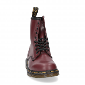 Dr. Martens Anfibio Donna 1460 cherry red smooth-3