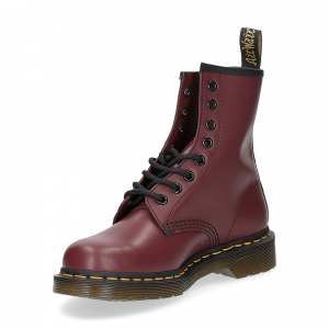 Dr. Martens Anfibio Donna 1460 cherry red smooth-4