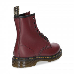 Dr. Martens Anfibio Donna 1460 cherry red smooth-5