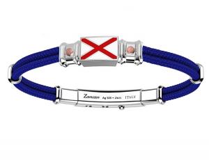 Zancan Bracciale Regata - Doppio Filo Blu, Bandiera nautica -