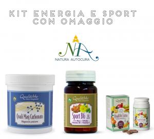 Kit Energia e Sport con OMAGGIO inserisci il CODICE: KITNATURAUTOCURA IN OMAGGIO il Doccia Shampoo Delicato limone e menta 200 ml