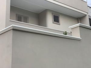 Imer coprimuro elite in cemento levigato bianco 11.5cm(larghezza interna)x100cm