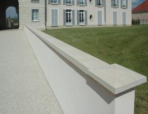 Imer coprimuro evolution in cemento levigato bianco 11.5cm(larghezza interna)x100cm