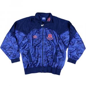 1994-95 Everton Tuta Umbro L *Nuova