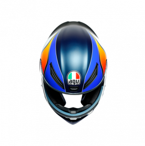 Casco AGV K1 Power Matt Dark Blue/Orange/White