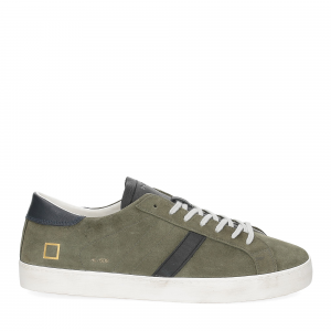 D.A.T.E. Hill low suede army-2