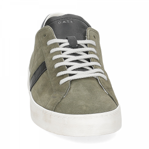 D.A.T.E. Hill low suede army-3