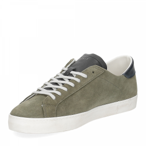 D.A.T.E. Hill low suede army-4