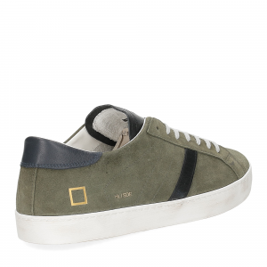 D.A.T.E. Hill low suede army-5