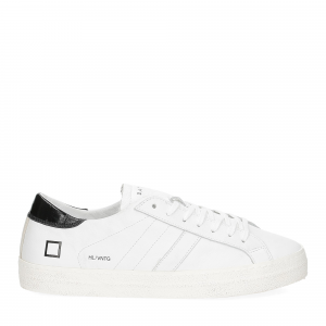 D.A.T.E. Hill low vintage calf white black-2