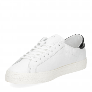 D.A.T.E. Hill low vintage calf white black-4