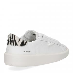 D.A.T.E. Ace animalier white zebra-5