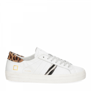 D.A.T.E. Hill Low animalier white-2