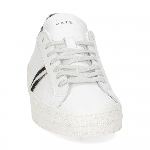 D.A.T.E. Hill Low animalier white-3